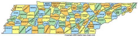 Tennessee Map Counties by Tennessee County Map Tn Counties Map Of Tennessee