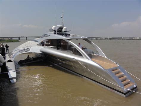 trimaran luxury yacht fuel efficient 15 million luxury trimaran adastra finally
