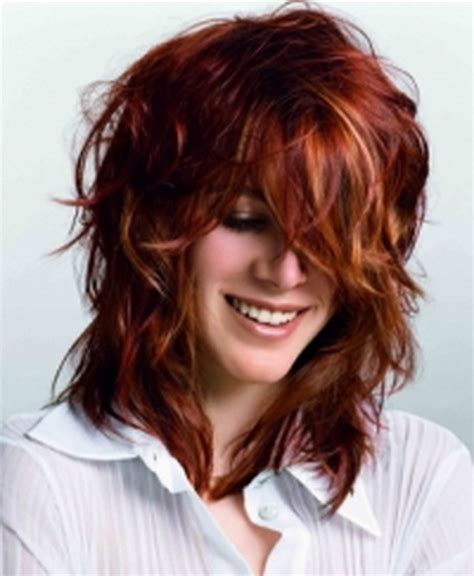 photos of shag style haircuts for curly hair curly shaggy hairstyles for women