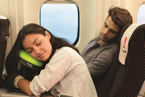 Most Comfortable Way To Sleep On A Plane by Ergonomic Airplane Pillows Kooshy Travel Pillow