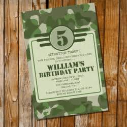 Army Party Invitation Army Camo Birthday Party Invitation For A Boy Sunshine Parties Camouflage Invitations Template Free