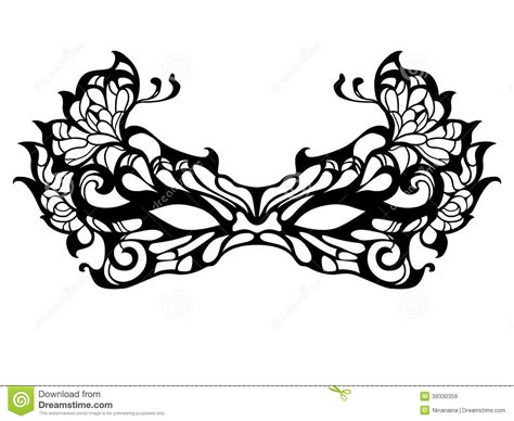 masquerade mask template for adults masquerade mask pattern use the printable outline for