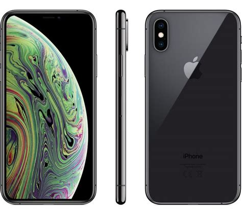 buy apple iphone xs 256 gb space grey free delivery currys