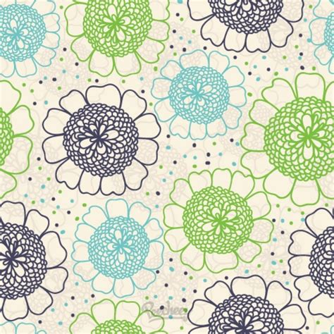modern floral pattern free vector in adobe illustrator ai floral wallpaper seamless free vector in adobe illustrator