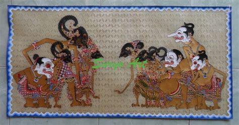 Jual Bibit Sapi Lung kerajinan wayang kulit souvenir khas jawa suryo jual lukisan wayang hiasan dinding unik