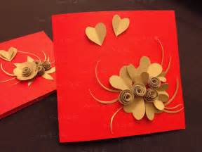 Handmade New Year Cards Ideas - handmade cards from offcuts colourful threads of