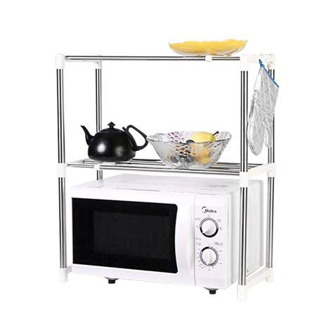 jual home klik microwave oven stainless steel shelf