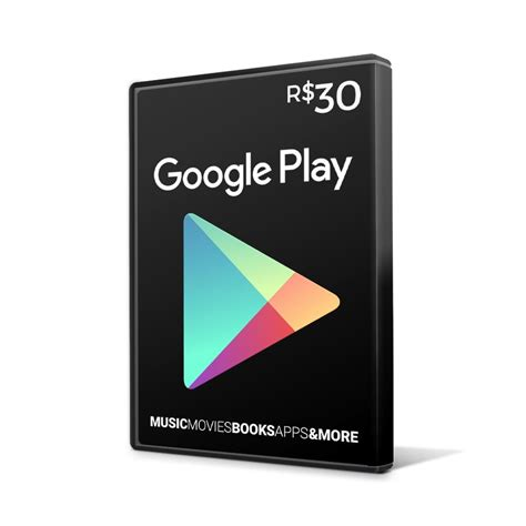 Gift Card Google Play Comprar - cart 227 o google play gift card 30 reais br android playstore r 35 50 em mercado livre