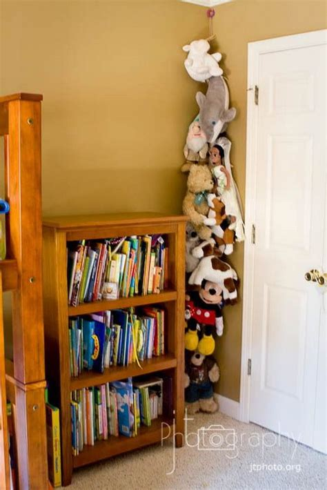 kid storage ideas 25 clever creative ways to organize stuffed toys