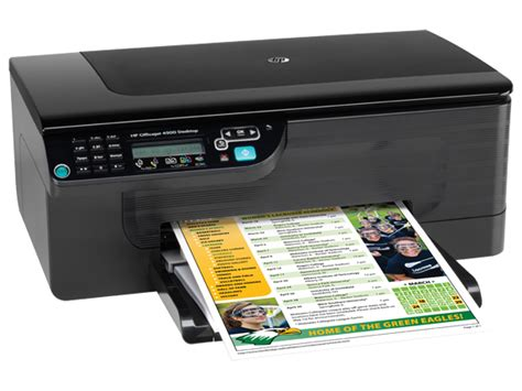 Printer Hp Officejet 4500 All In One hp officejet 4500 desktop all in one printer g510a cq662a