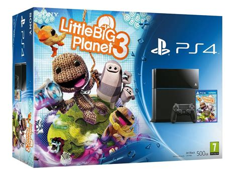 ps4 themes little big planet 3 littlebigplanet 3 ps4 console bundle revealed on amazon