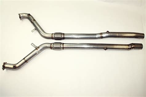 Audi Rs6 Downpipe by Audi Rs6 C6 4f 5 0tfsi V10 Downpipe Catalytic Converter