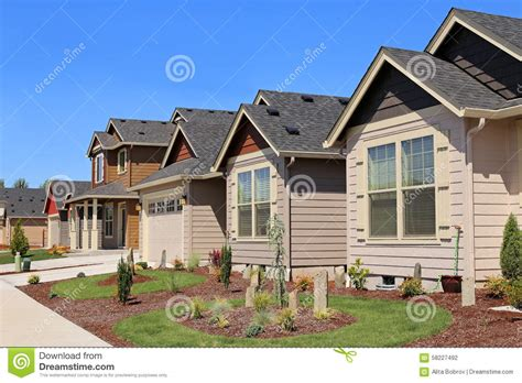 beautiful family homes beautiful family homes stock photo image 58227492