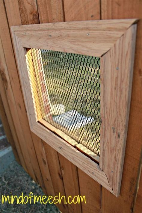 fence window 52 best images about fence windows on for dogs pets and backyards