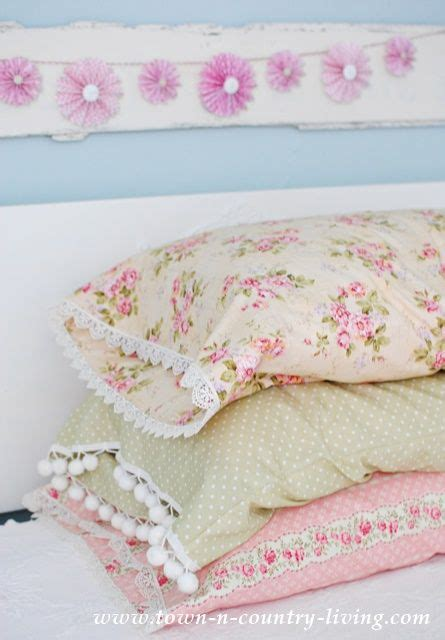 diy vintage style pillow cases vintage style lace and