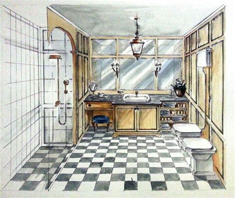 Candice Olson Bathroom Designs by Classy English Retro Bathroom Portfolio Interior Design
