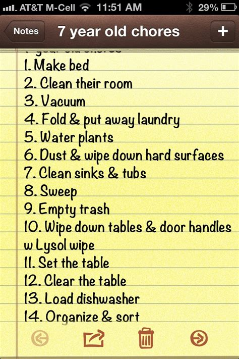 6 best images of 5 year old chore chart 3 year old chore 7 year old chores kids pinterest