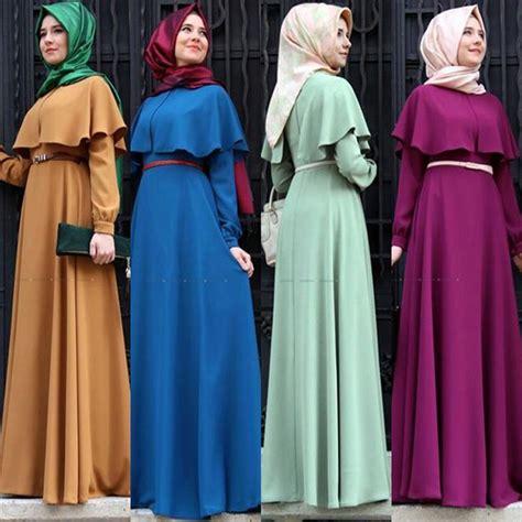 Dress Muslim Wanita Gamis Maxi Dress Turkey 4 aliexpress buy new personality cape style abaya