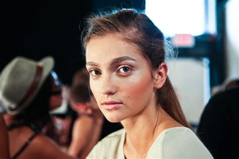 Backstage With Tom Pecheux At Doori by Nyfw Backstage Tom Pecheux S Metallic Affair