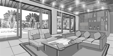 two point perspective living room 2 point perspective living room peenmedia