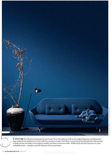 indigo paint color palette  interiors  color