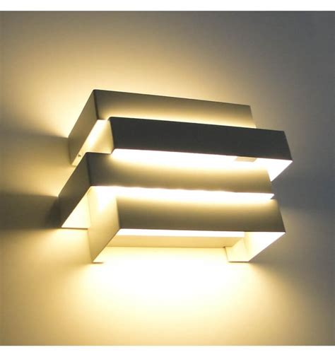 led applique applique led moderne design scala 6x1w