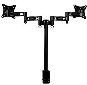 rosewill dual monitor desk mount rosewill rms ddm05 dual monitor desk mount support 13