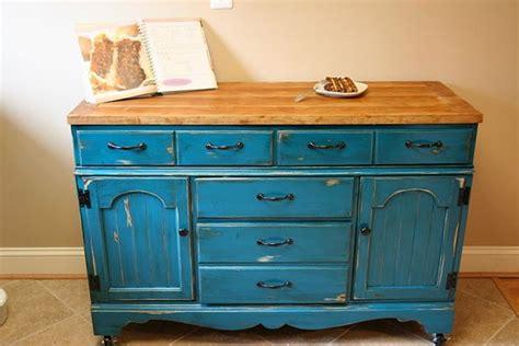 kitchen dresser ideas dresser to kitchen island repurpose ideas refurbished ideas