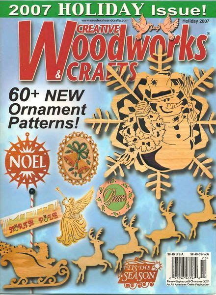 creative woodworking and crafts creative woodworks crafts 125 2007 holiday 01 scroll
