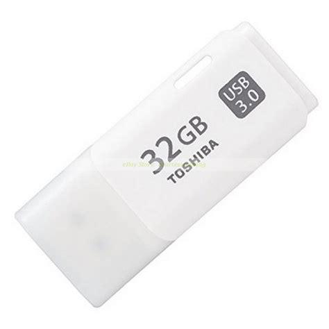 toshiba usb 32gb 32g hayabusa white usb 3 0 usb flash drive new ct ebay
