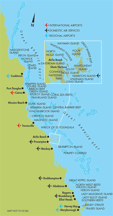 great barrier reef map map of the great barrier reef in australia images