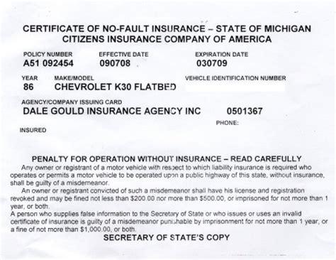 Vehicle Insurance Card   Vehicle Ideas