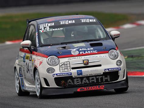 Abarth Racing 2008 Abarth 500 Assetto Corse Race Racing G Wallpaper