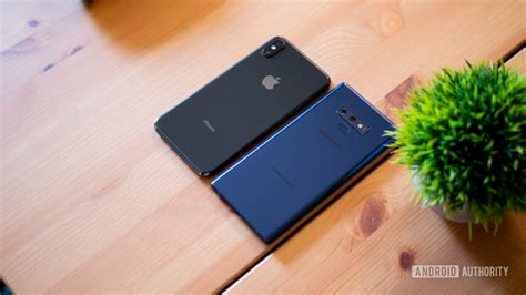 samsung galaxy note   iphone xs max   worth   android authority