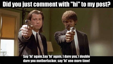 Pulp Fiction Meme - pulp fiction jules meme www imgkid com the image kid