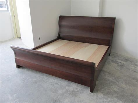 Sleigh Bed Frames King Size Sleigh Bed King Size Sleigh Bed Solid Oak Mahogany Veneer King Size