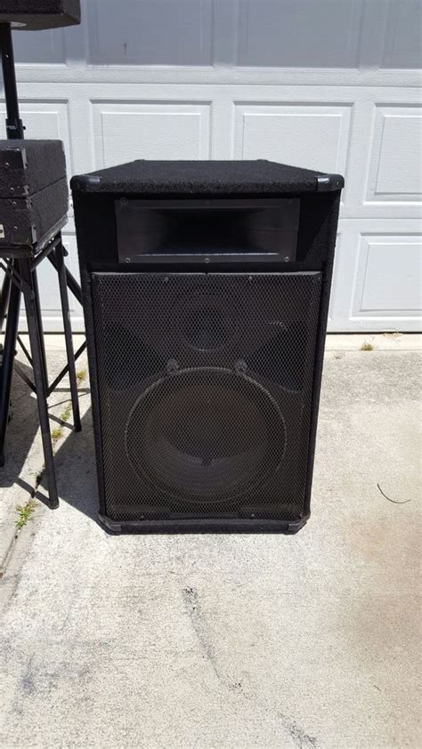 used dj lights for sale used dj speakers for sale peavey sp3g audio equipment in