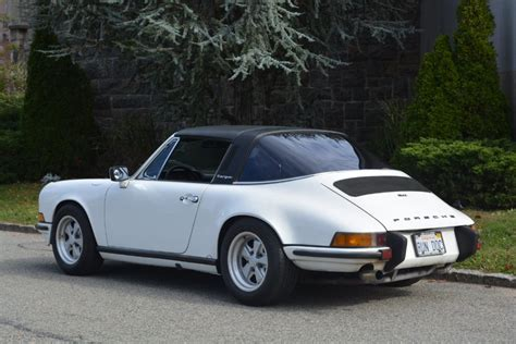 1971 porsche 911t targa for sale 1971 porsche 911t 0 white targa manual used porsche 911