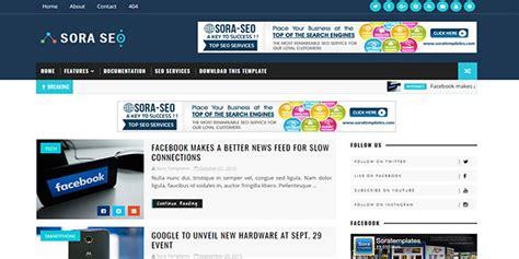 sora templates for blogger sora seo blogger template