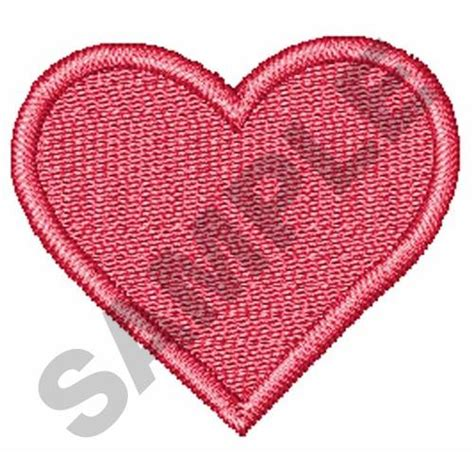 heart embroidery pattern shapes embroidery design mini heart from great notions