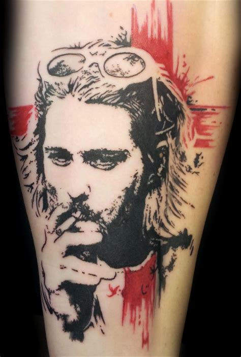 assassin ink tattoo dresden robertoalejandr kurt cobain assassin ink tattoo