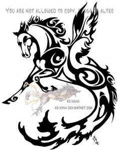 tribal hippocampus by arixona on deviantart