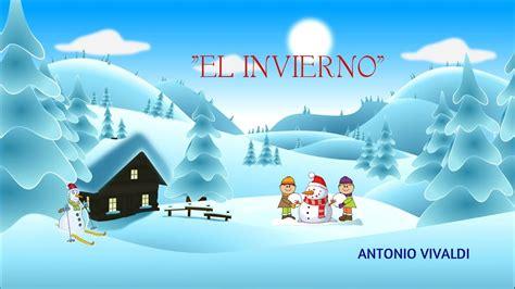 imagenes de invierno el invierno vivaldi m 250 sica cl 225 sica para ni 241 os youtube