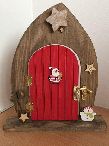 pre order elves  wooden elf  fairy christmas door