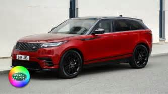2018 range rover velar colors