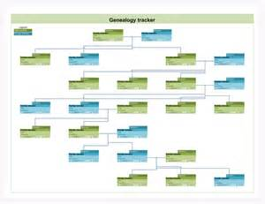 family tree template family tree landscape template