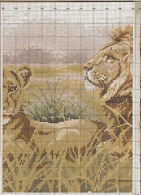 casa punto it quadro casa punto croce con stupendi leoni 5