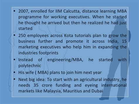 Iim Calcutta Distance Mba by Dalit Entrepreneurs