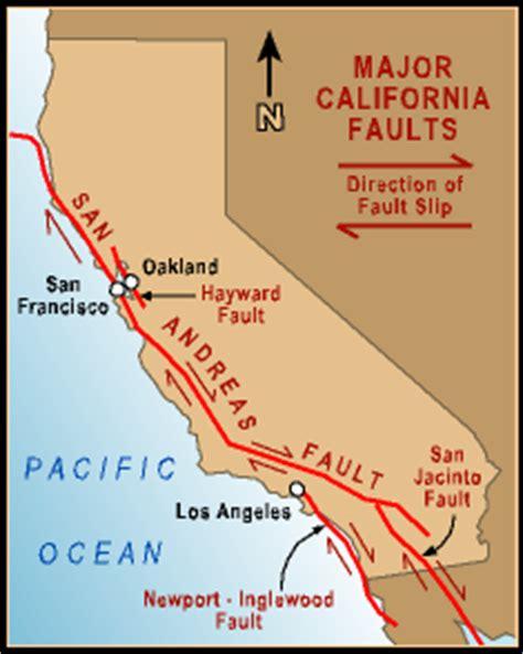 california map fault lines quake country california s faults