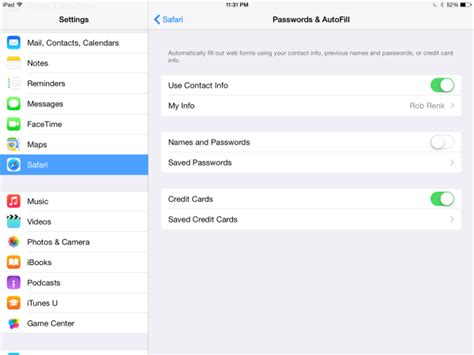 Sle Credit Card Number For Apple Id How To Manage Your Stored Credit Card Info In Your Safari Browser Insight